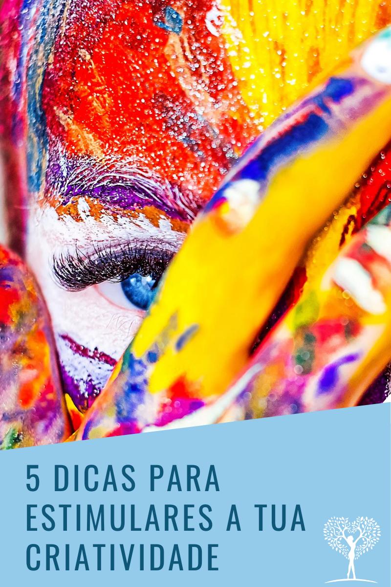 Read more about the article Como incluir a criatividade na tua vida? 5 dicas práticas para estimulares a Tua criatividade